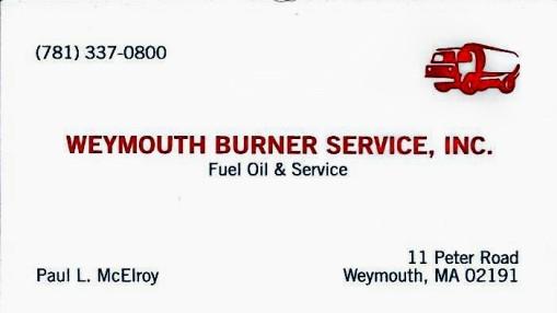 spon Weymouth Burner
