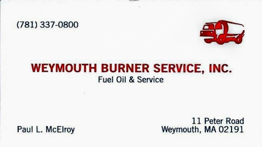 spon Weymouth Burner