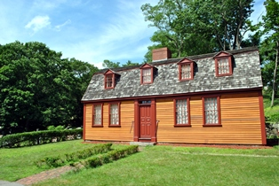 Abigail-Adams-Birthplace sunny