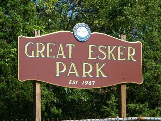 Great Esker sign