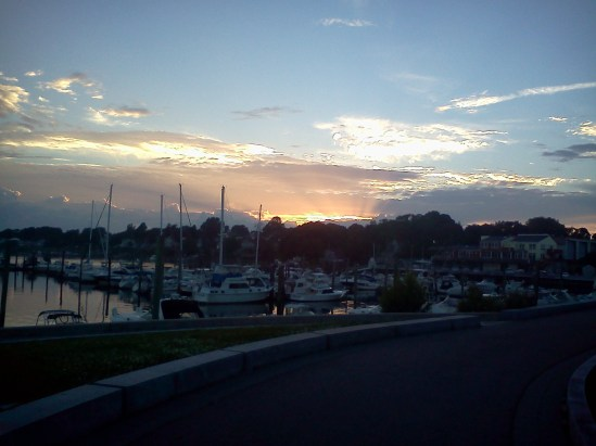 Tern Harbor sunset