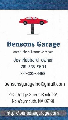 spon Benson's