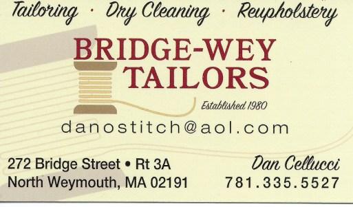 Spon Bridge-Wey tailors