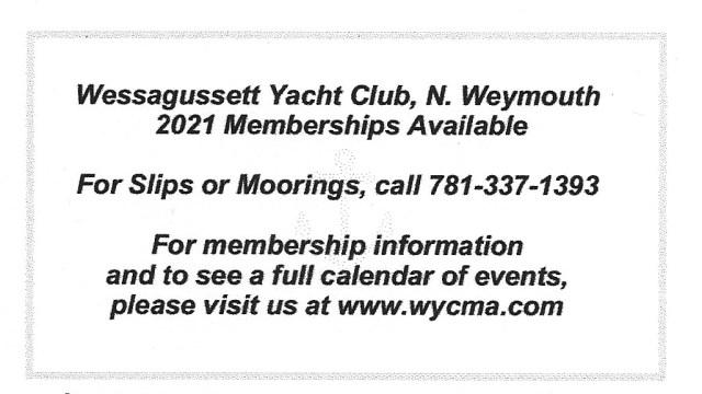 Spon Wessagussett Yacht Club